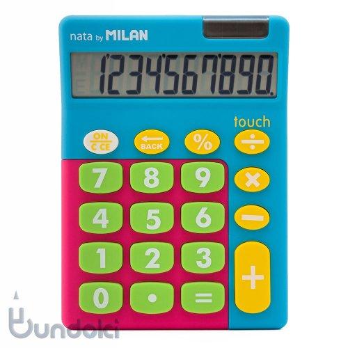 【MILAN/ミラン】カリキュレーター Touch MIX/10桁電卓