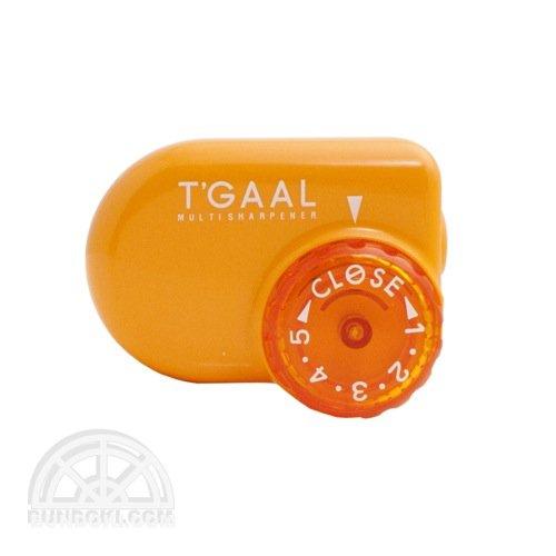 【kutsuwa/クツワ】鉛筆削り T'GAAL/トガール(オレンジ)
