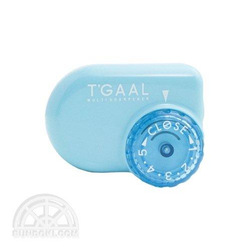 【kutsuwa/クツワ】鉛筆削り T'GAAL/トガール(ライトブルー)