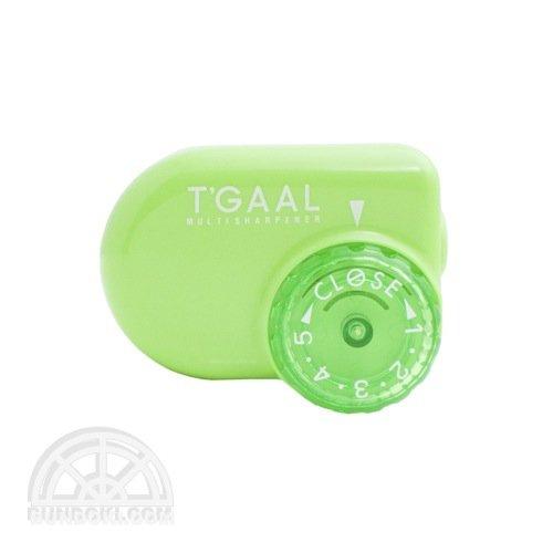 【kutsuwa/クツワ】鉛筆削り T'GAAL/トガール(グリーン)