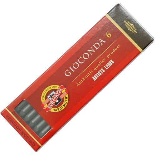 【KOH-I-NOOR/コヒノール】GIOCONDA 5.6ミリ黒鉛芯(硬度:4B)