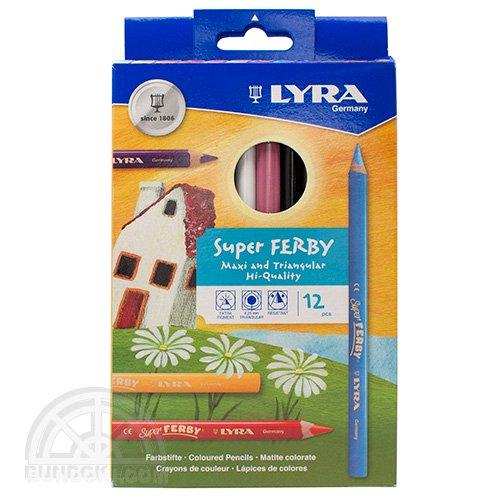 【LYRA/リラ】SUPER FERBY 色鉛筆(12色入り)3721120