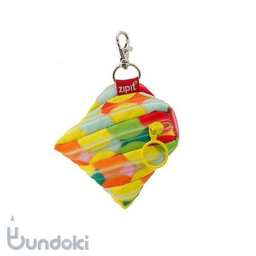 【Zip It/ジップイット】COLORZ mini Pouch Large Bubbles