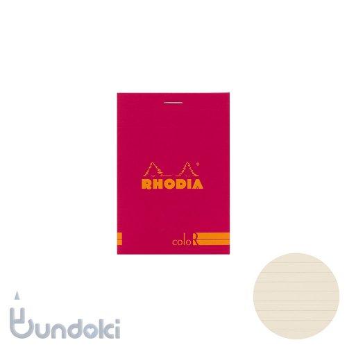 【Rhodia/ロディア】RHODIA coloR No.12 横罫(フランボワーズ)