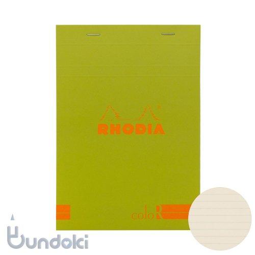 【Rhodia/ロディア】RHODIA coloR No.16 横罫(アニス)
