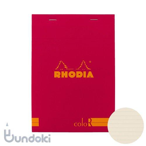 【Rhodia/ロディア】RHODIA coloR No.16 横罫(フランボワーズ)
