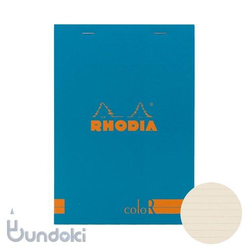 【Rhodia/ロディア】RHODIA coloR No.16 横罫(ターコイズ)