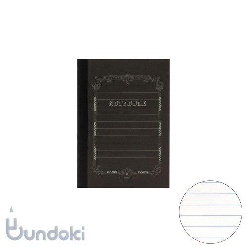 【ツバメノート】ポケットブラックノート(横罫)