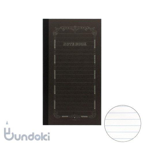 【ツバメノート】B6変形ブラックノート(横罫)