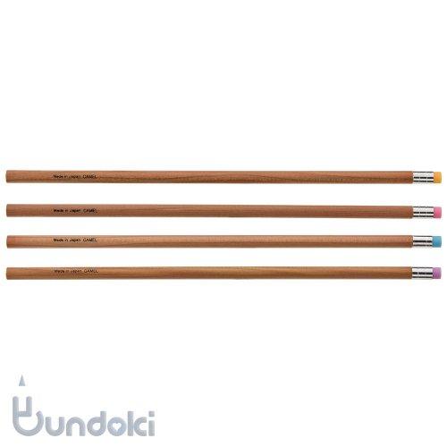 【キャメル鉛筆製作所/Camel Pencil】Slender Pencil w/eraser