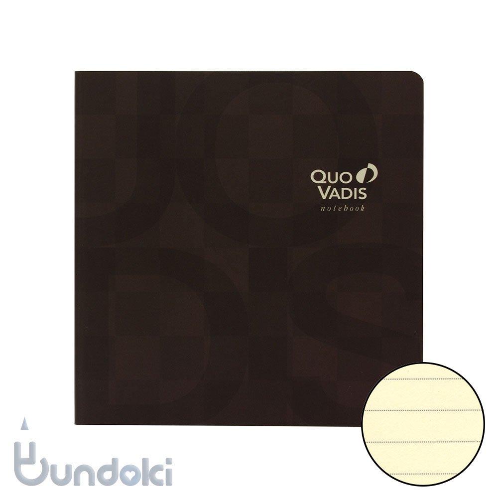 【QuoVadis/クオバディス】ノートブック 16×16 モザイク/ブラウン (プレステージ)