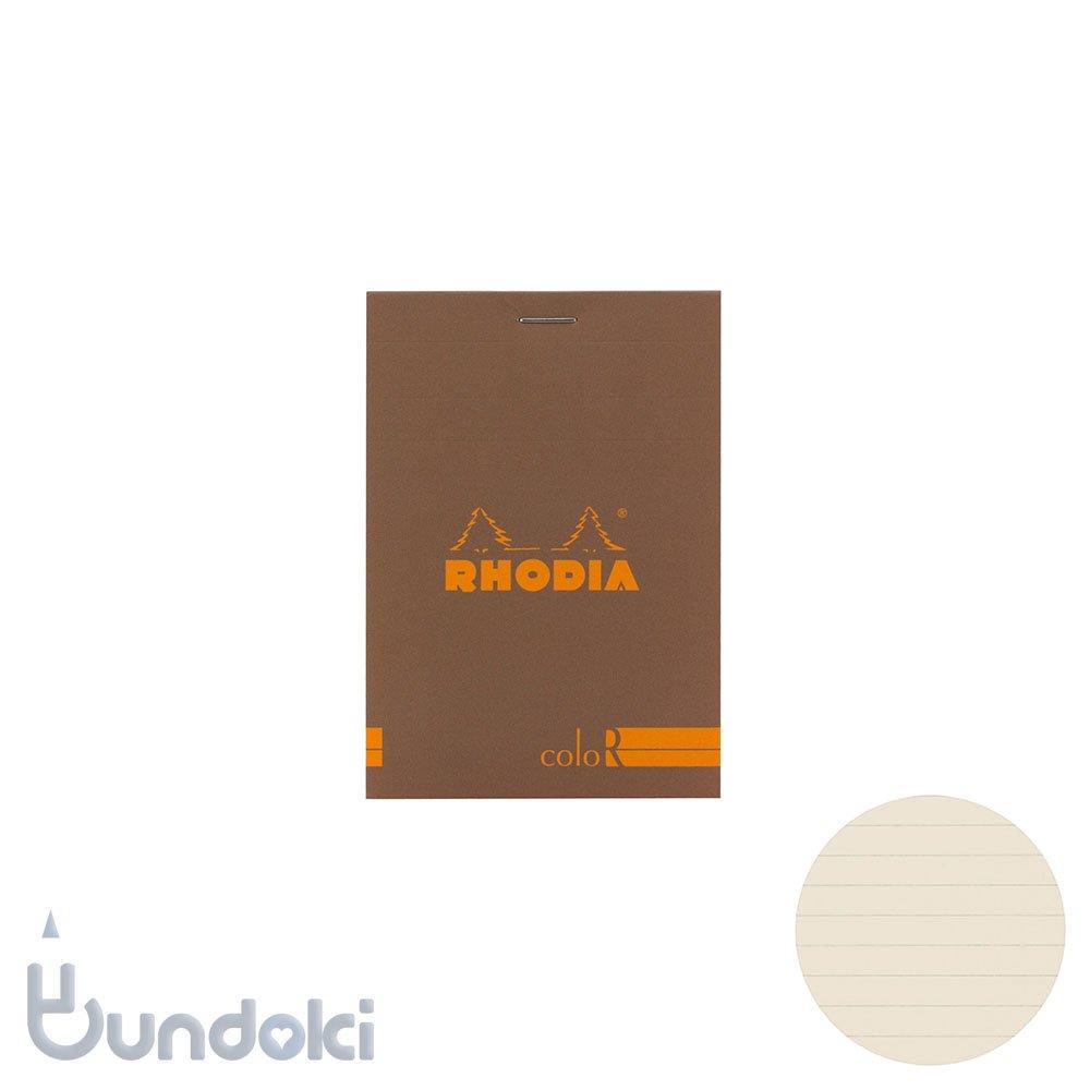 【Rhodia/ロディア】RHODIA coloR No.12 横罫(トープ)