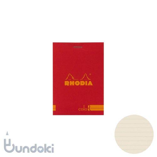 【Rhodia/ロディア】RHODIA coloR No.12 横罫(コクリコ)