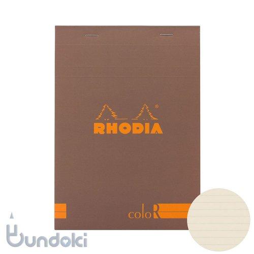 【Rhodia/ロディア】RHODIA coloR No.16 横罫(トープ)