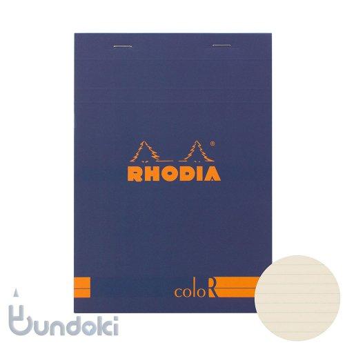 【Rhodia/ロディア】RHODIA coloR No.16 横罫(サファイア)