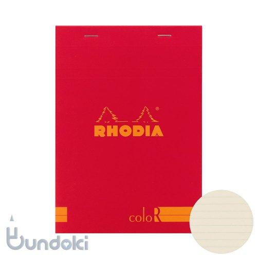 【Rhodia/ロディア】RHODIA coloR No.16 横罫(コクリコ)