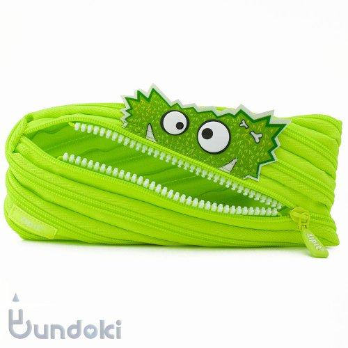 【Zip It/ジップイット】Talking Monstar Pouch/トーキングモンスター (Grizzle/グリーン)