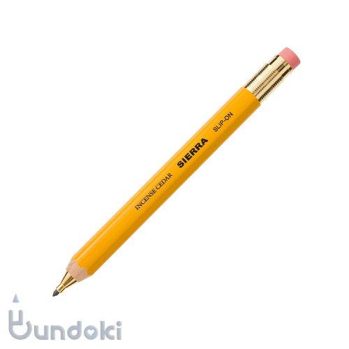 【SLIP-ON/スリップオン】SIERRA 木軸ペンシルS (2.0mm/イエロー)