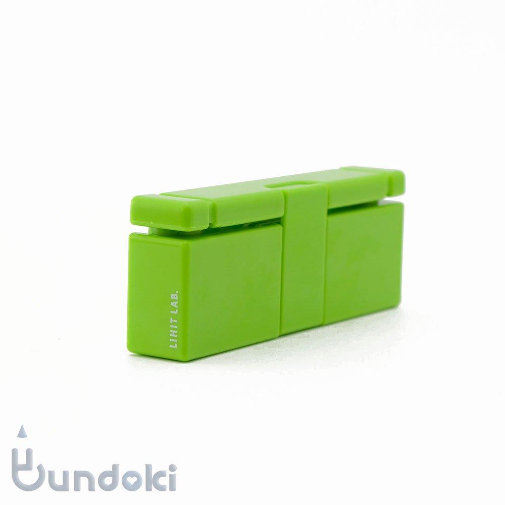 【LIHIT LAB./リヒトラブ】コンパクトパンチ (黄緑)