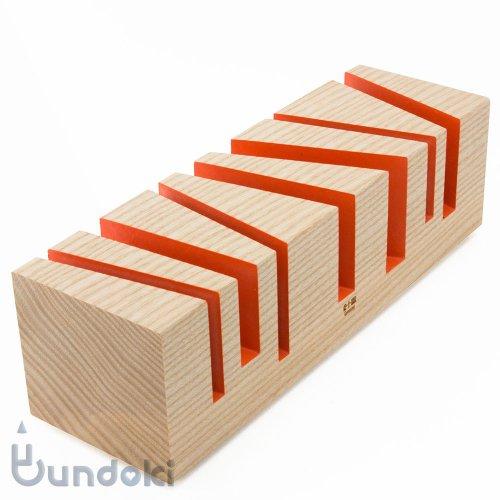【e+m/イープラスエム】オーガナイザー BRIXXS cuts (オレンジ)