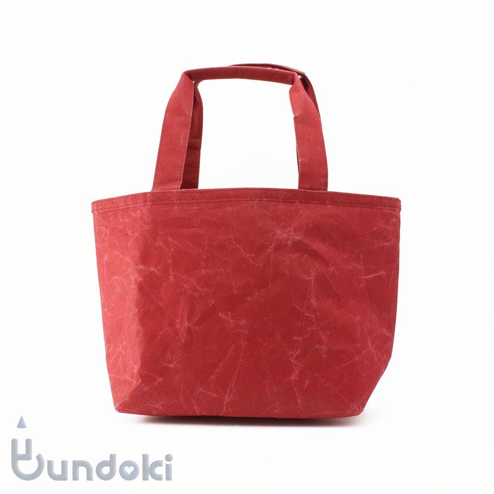 【SIWA・紙和】ランチバッグ (レッド)