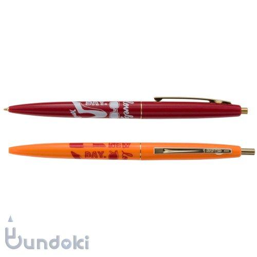 【BIC/ビック】クリックゴールド・ミスビック 2P (レッド/蛍光オレンジ)