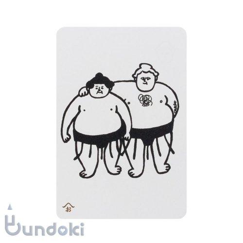 【西東】おはぎやまポストカード (外国人力士)