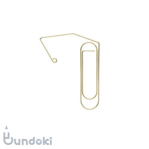 【HIGHTIDE/ハイタイド】ワイヤークリップブックマーカー (ゴールド)