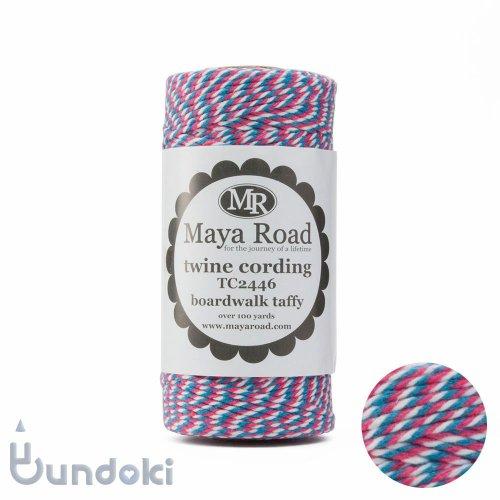 【Maya Road/マヤロード】Twine Cording /コットン トワイン (Boardwalk taffy)