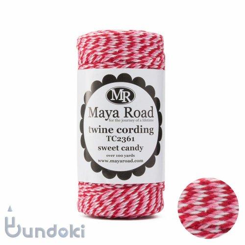 【Maya Road/マヤロード】Twine Cording /コットン トワイン (Sweet Candy)