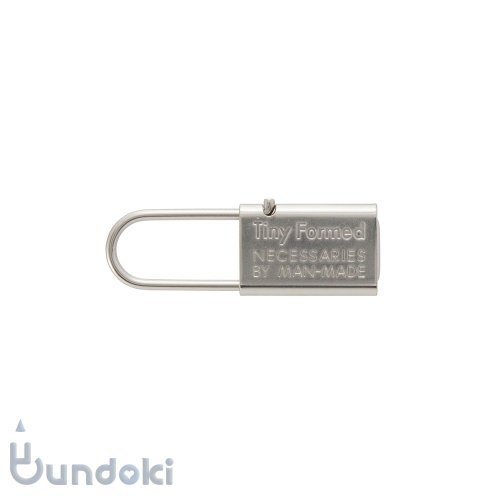 【Tiny Formed/タイニーフォームド】metal key chain (silver)
