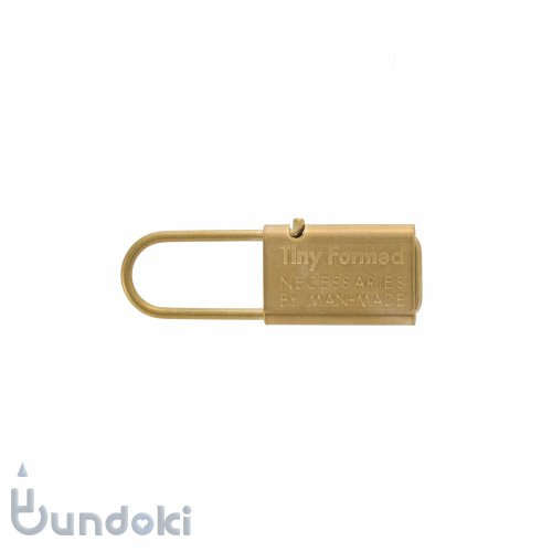 【Tiny Formed/タイニーフォームド】metal key chain (brass)