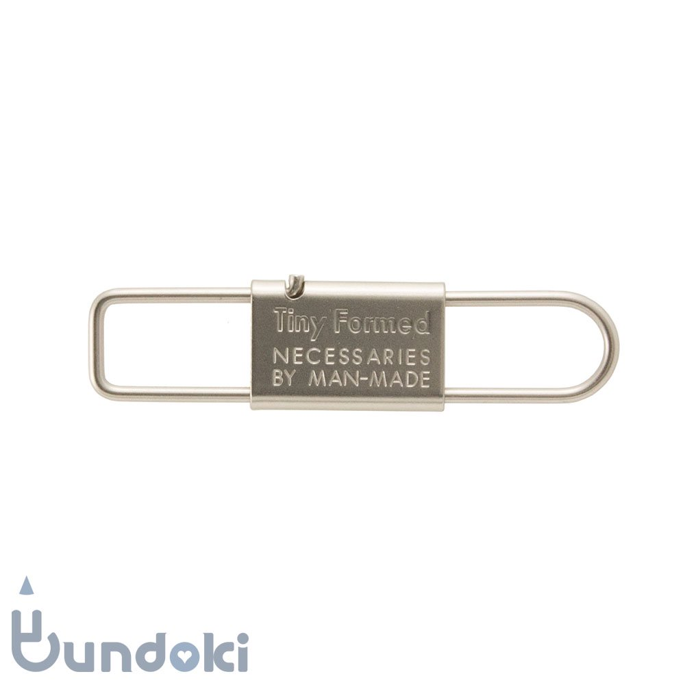 【Tiny Formed/タイニーフォームド】metal key shackle (silver)
