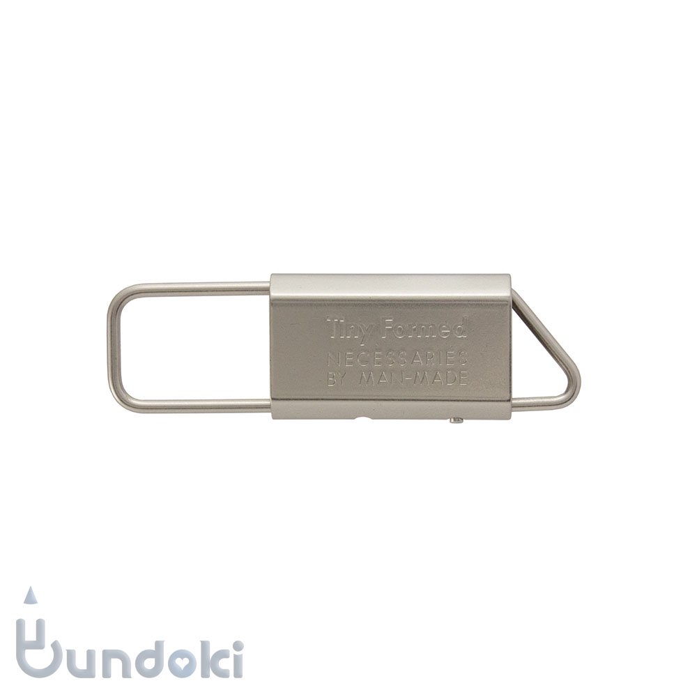 【Tiny Formed/タイニーフォームド】metal key fold (silver)