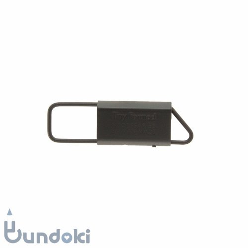 【Tiny Formed/タイニーフォームド】metal key fold (black)