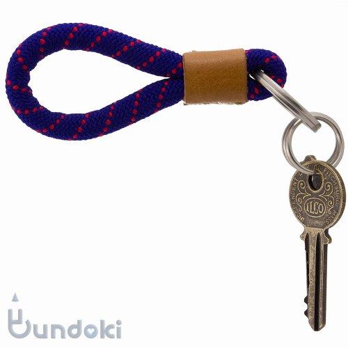 【PRAYER/プレア】Braid dot Key ring (purple)