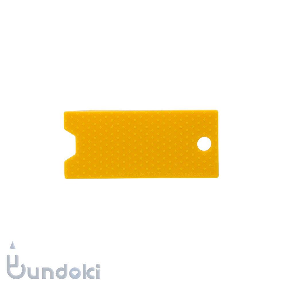 【+d/プラス・ディー】Key Keeper R/シリコンキーカバー (イエロー)