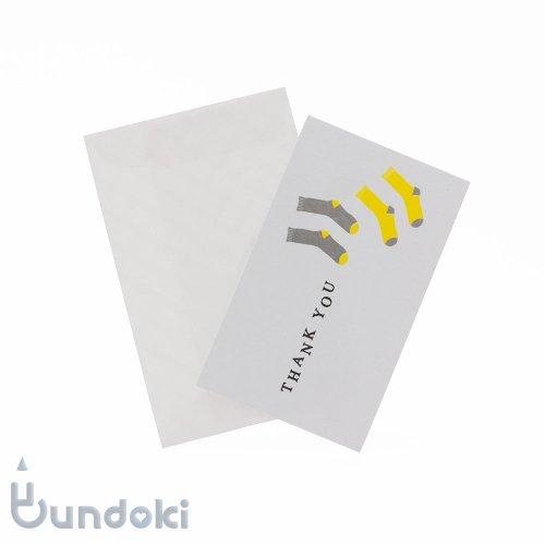【水縞】服飾メッセージカード (THANK YOU)