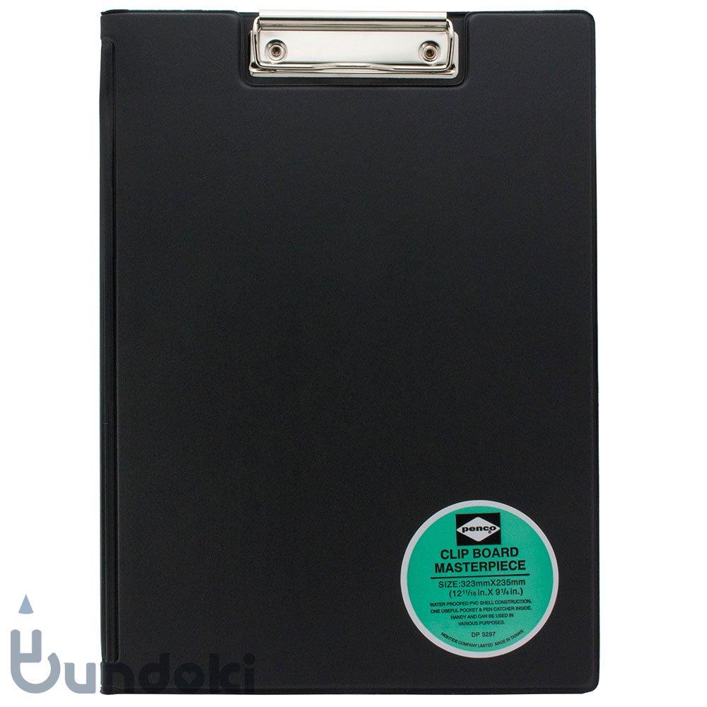 【HIGHTIDE/ハイタイド】penco クリップボード A4 (ブラック)