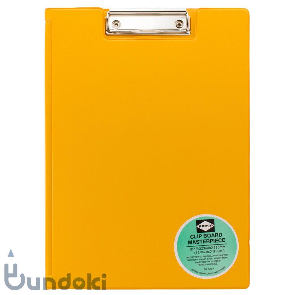 【HIGHTIDE/ハイタイド】penco クリップボード A4 (イエロー)