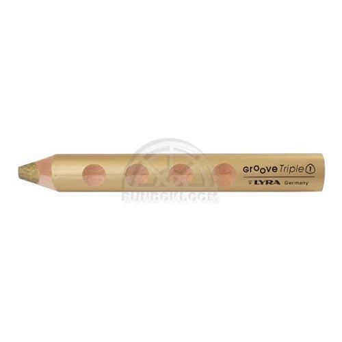 【LYRA/リラ】GROOVE Triple 1 /トリプルワン色鉛筆(単色販売/250 ゴールド)