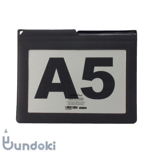 【HIGHTIDE/ハイタイド】エアタイトポーチ・A5 (ブラック)