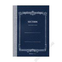 【ツバメノート】SECTION NOTE(5ミリ方眼ノート)A5