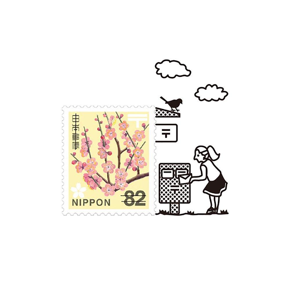 【Vectculture】切手のこびと (008-お便りだします)