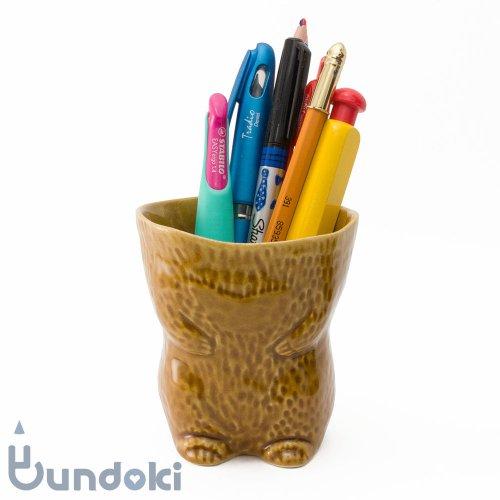 【倉敷意匠】kiyata/脱ぎたて毛皮カップ・クマ (ブラウン)
