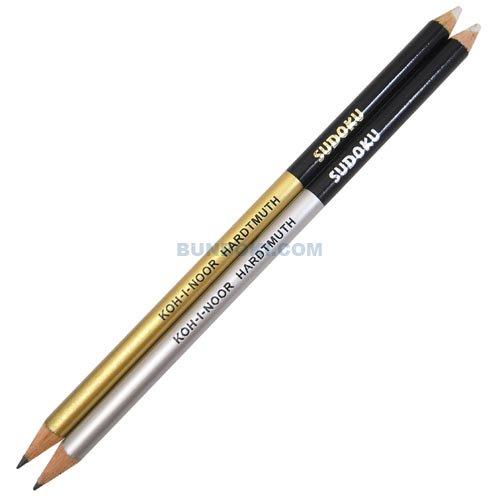 【KOH-I-NOOR/コヒノール】SUDOKU 消しゴム付き鉛筆