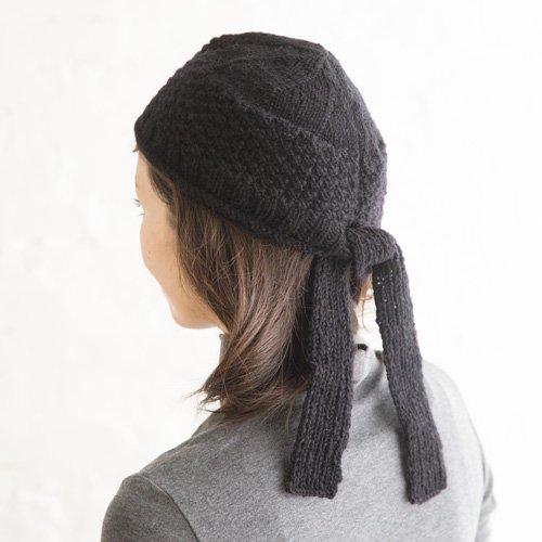 ターバン風ニット帽