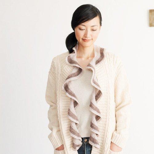 ウールツイストスカーフ