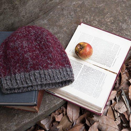 冬色ニット帽
