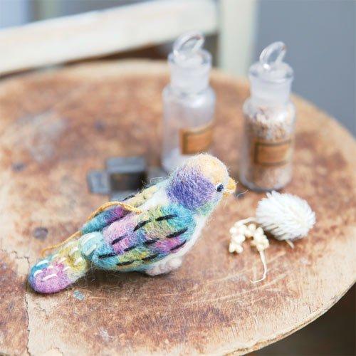 虹色鳥のマスコット